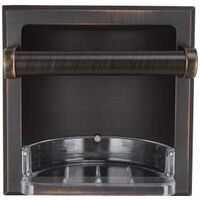 Soap Holder with Grab Bar, Venetian Bronze