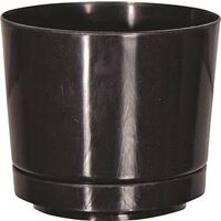 "Full Depth Planter, 8"" Gloss Black"