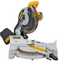 Dewalt DW713 Single Bevel Compound Corded Miter Saw