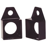 LL Buildsite V500 Column Socket, For Use With 1 X 1 in Column, Steel, Powder Painted, Black