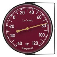 La Crosse 104-1512 Weatherproof Analog Thermometer