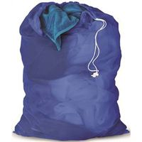 BAG LAUNDRY MESH BLUE 24X36