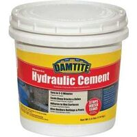 Waterproof Hydraulic Cement, 2.5 Lbs