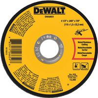 Dewalt DWA8051 Type 1 Small Diameter Cut-Off Wheel