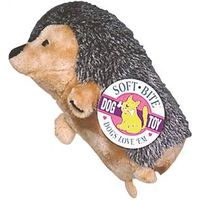 Booda 7610 Large Soft Squeezable Bite-able Grunting Hedgehog