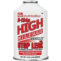 High Mileage R134A Auto AC Refrigerant with Stop Leak, 12oz