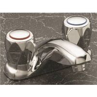Two Handle Bathroom Faucet, Chrome