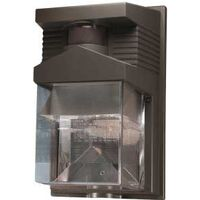 Halogen Security Light, 190 Degree Bronze