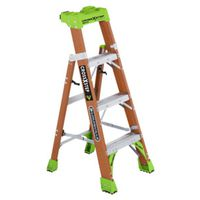 LADDER IA FBRGLS CRSS-STEP 4FT