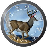 THERMOMETER PATIO 13 INCH DEER