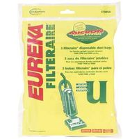 Eureka 57802B Vacuum Cleaner Bags, Type U - Upright