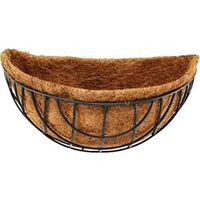 Wall Mount Planter with Coco Liner, 14""