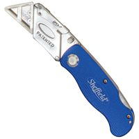 Sheffield 12113 One Hand Opening Lock Back Folding Utility Knife