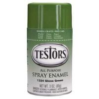 Testors Hobby Model Spray Paint, 3 oz Green