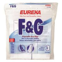 Eureka 52320B Vacuum Cleaner Bags, Upright, Type F & G