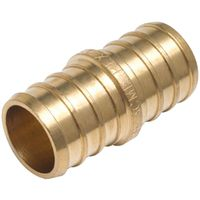 COUPLING BRASS PEX 3/4