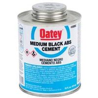 Low VOC ABS Cement, 32 oz Black