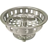 Spin & Lock Basket Strainer, Stainless Steel