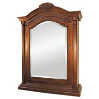 Foremost Wingate Bevel Mirrored Single Door Medicine Cabinet