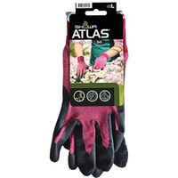 GLOVE NAT RUBBR NYLON SHELL LG