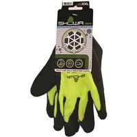 GLOVE RUBBER PALM W/FLEECE XXL