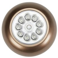 LIGHT 9 LED XB ANYWHERE BRONZE