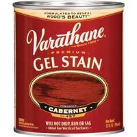 Varathane Interior &amp; Exterior Oil Gel Stain, 1 Qt Cabernet