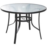 Living Accents Belvedere Dining Table 42 in W X 29 in D X 42 in H