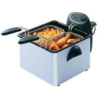 Dual Basket Immersion Fryer