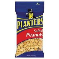 Planters Salted Peanuts 6Oz - Pack of 12