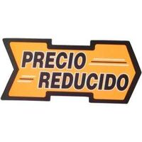 New Low Price Arrow Sign, Spanish