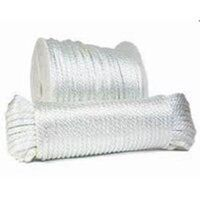 nylon Rope, White, 1/4""