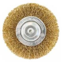 "Wire Wheel Brush, 4"" Coarse"