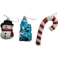 CANDY ORNAMENTS, ASSORTED