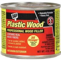 Dap Plastic Wood, White 4 oz