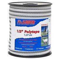 Fi-Shock PT656WH-FS Electric Fence Polytape