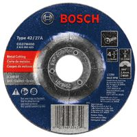 Bosch 326390 Type 27 Depressed Center Grinding Wheel