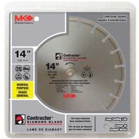 Contractor Plus Segmented Circular Saw Blade, 14""