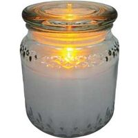 JAR CANDLE LED 3IN1 LARGE