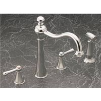Two Handle Kitchen Faucet, Chrome