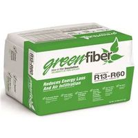 Greenfiber INS541LD Low Dust Loose Fill Construction Insulation