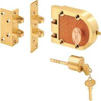 Prime-Line SE 15361 Jimmy Proof Single Cylinder Deadbolt