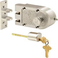 Prime-Line SE 15323 Jimmy Proof Single Cylinder Deadbolt