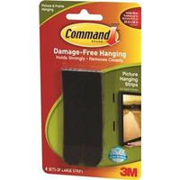 Command 17206BLK Large Picture Hanging Strip