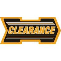 Clearance Arrow Shelf Tag