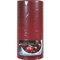 6IN CANDLE BLK CHERRY