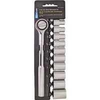 Mintcraft 11PC-4S  Socket Wrench Sets