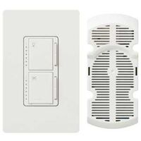 Light & Fan Control Switch, White