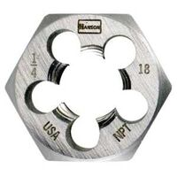 Hexagon Die, 3/8-18 NPT