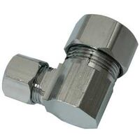 "Low Lead Angle Water Supply Connector, 1/2"" x 3/8"""